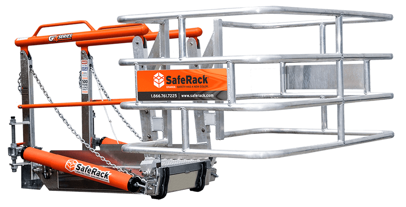 SafeRack Loading Gangway and Rack