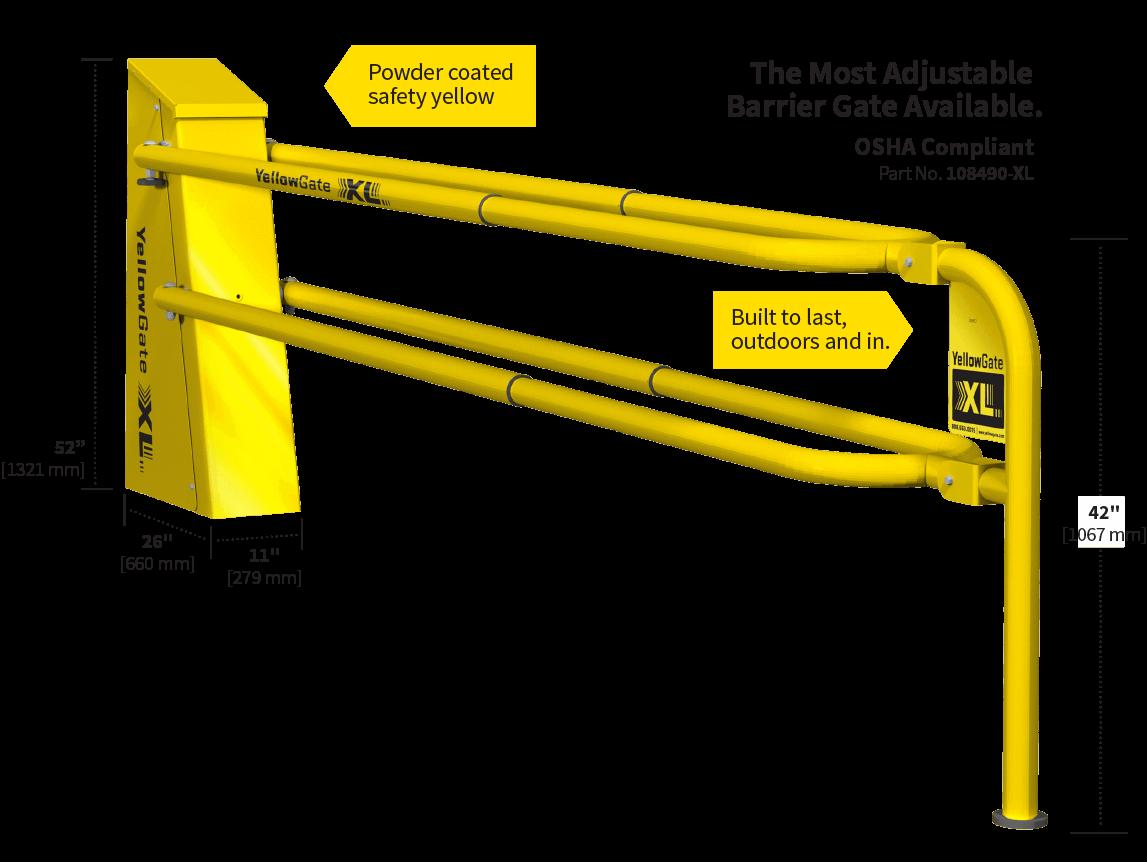 Adjustable Barrier Gate